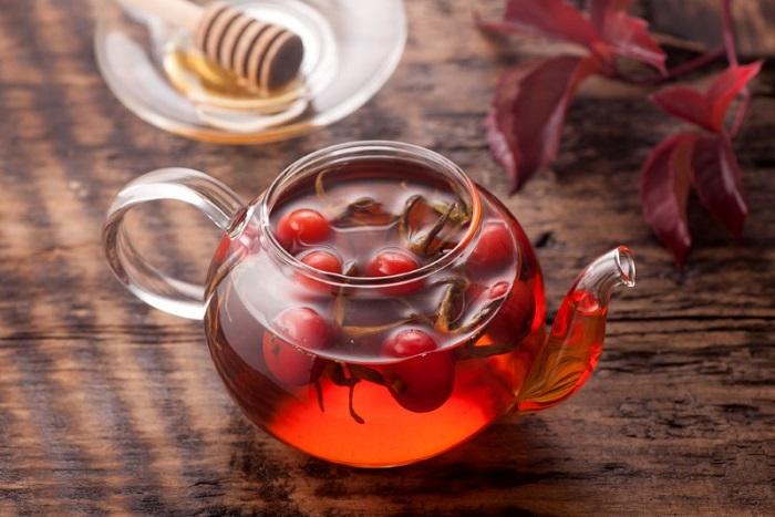 Как заваривать шиповник сушеный в чайнике