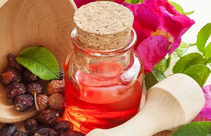 Масло шиповника при простудных заболеваниях