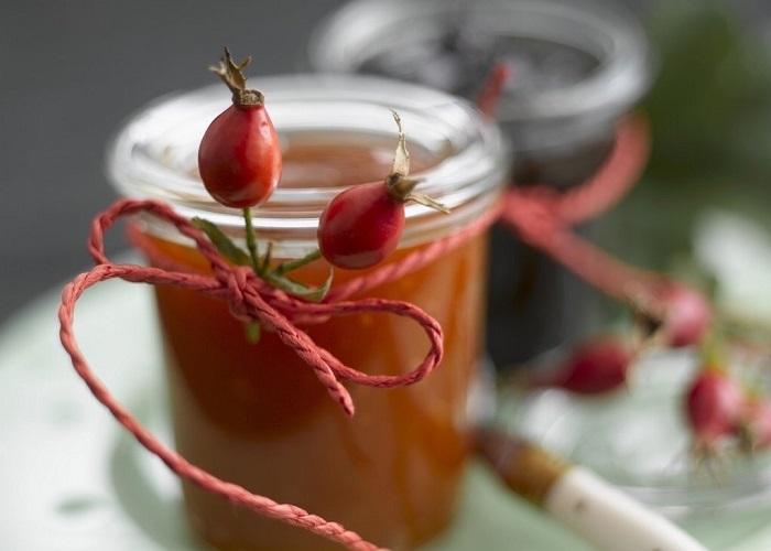 Рецепт приготовления сиропа шиповника