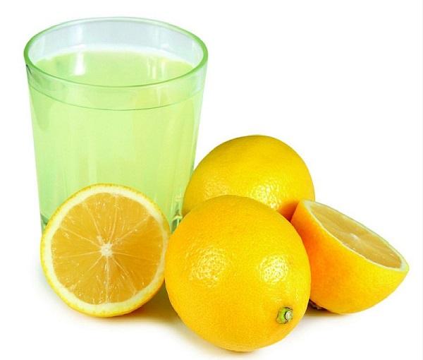 Морошка и лимон