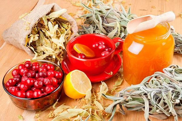 Лекарство с лимоном и медом