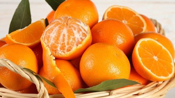 Мандариновый десерт с апельсином