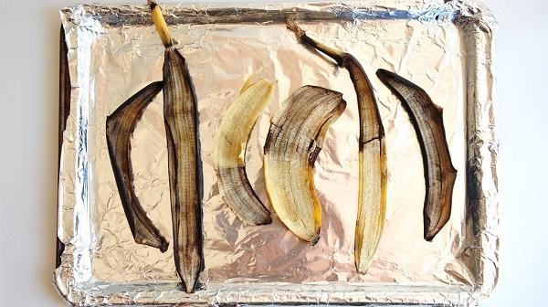 Сушка банановой кожуры