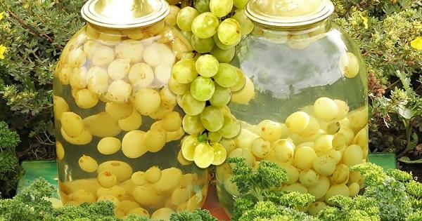 Виноградно-мандариновый