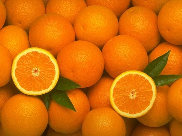 Почистить апельсин быстро