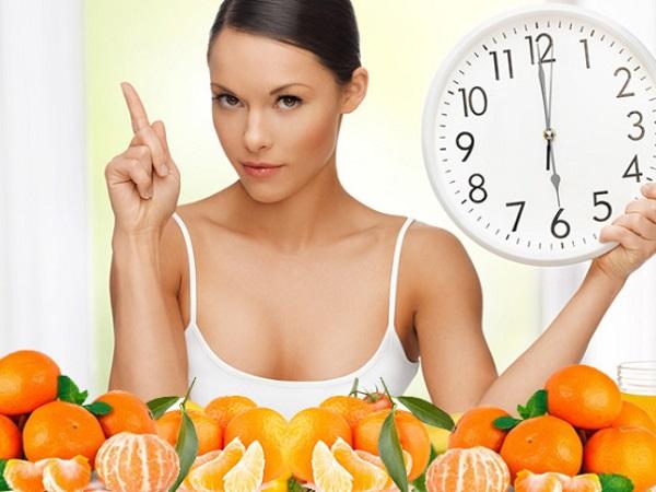 можно ли есть мандарины на диете