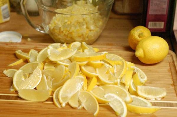 Готовка лимона