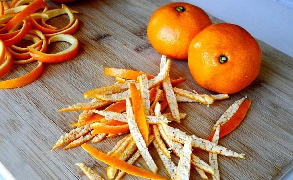 Корки мандарин