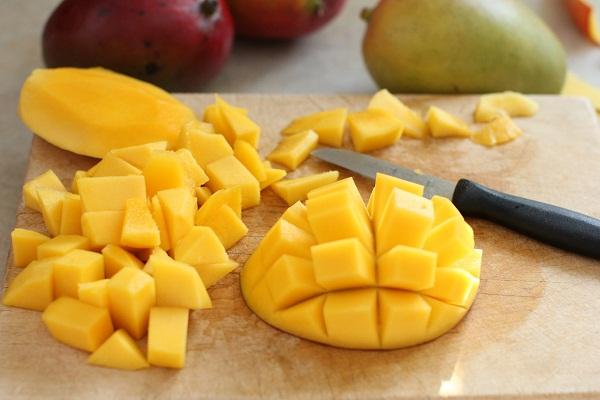 Нарезка манго