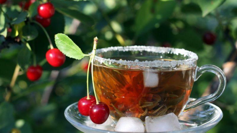 Чай из вишни
