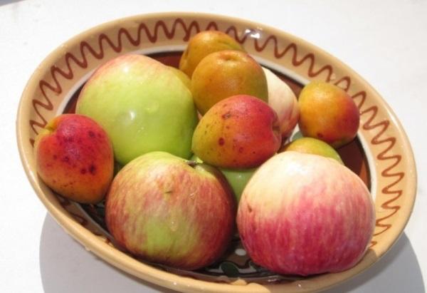 Джем из яблок и абрикосов