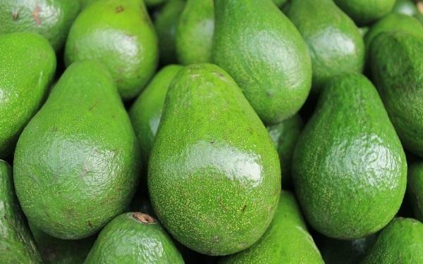 Зеленые экзотические плоды