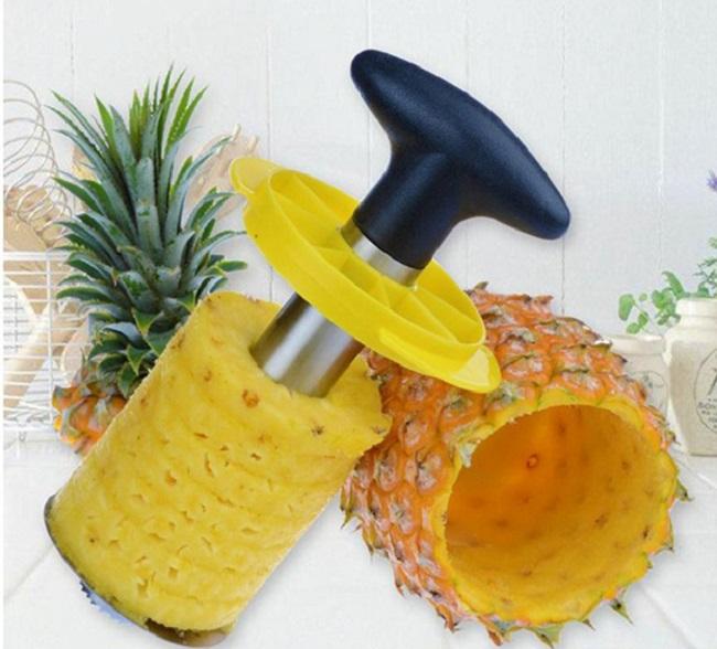 как чистить ананас 5