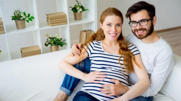 В первом триместре беременности