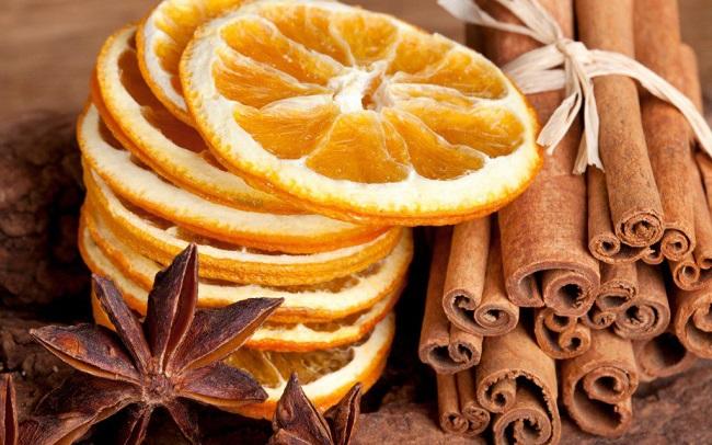 Как апельсин засушить для декора - в духовке, в микроволновке, на батарее, целиком