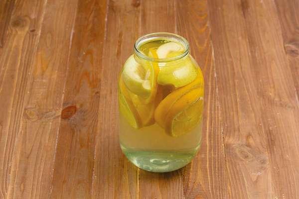 Компот из апельсинов на 3 литра