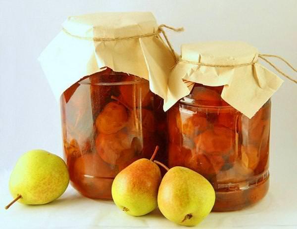Компот из апельсинов и груши