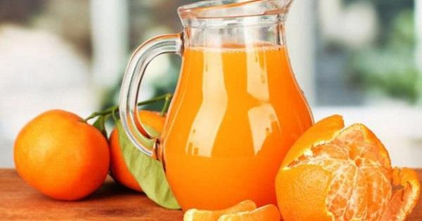 Компот из апельсинов и мандарин