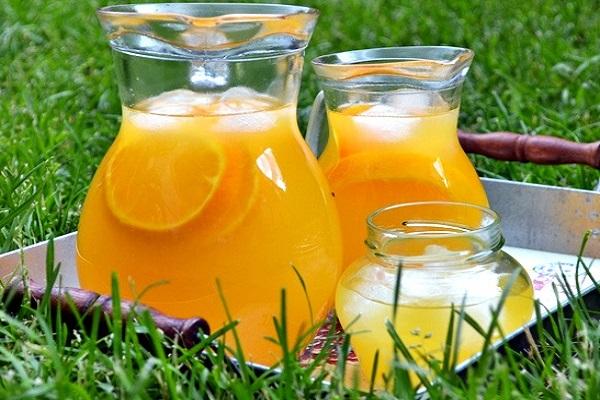 Компот из апельсинов замороженных