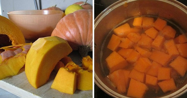Сок из апельсина и тыквы