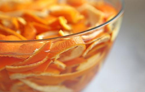 Сок из апельсиновых корок