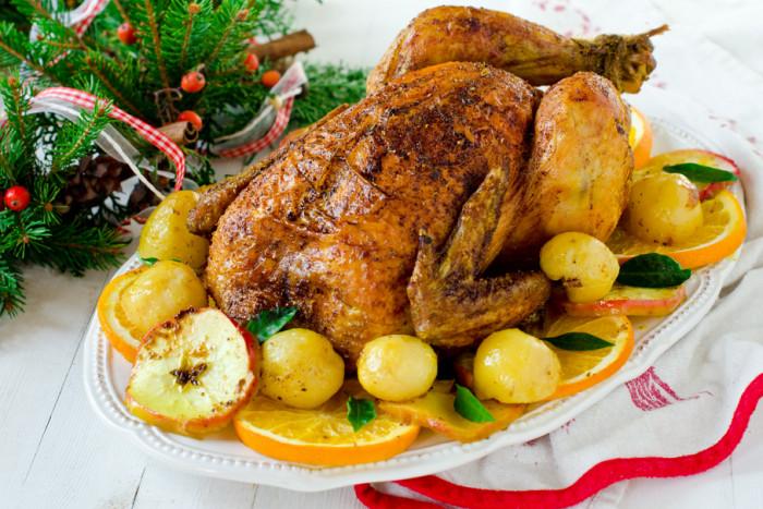 Приготовления жареной сочной курицы