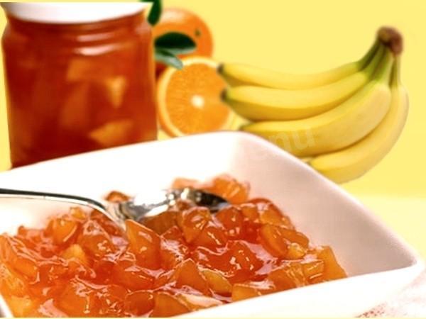 Варенье из бананов и апельсин