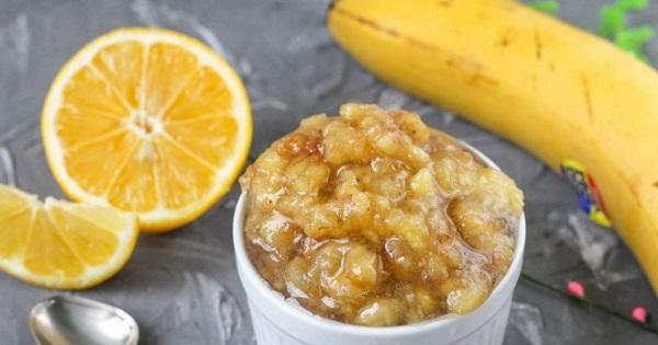 Варенье из бананов с лимоном