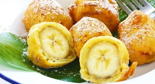 Бананы в тесте жареные
