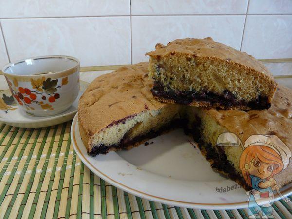 Вкусная шарлотка без яблок - с ягодами, с вареньем, с какао, шоколадом, в духовке или в мультиварке