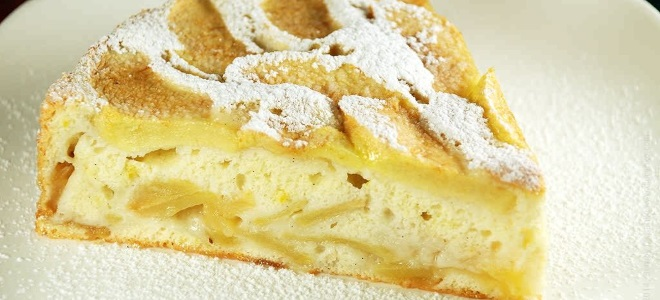 Творожная шарлотка с яблоками - пошаговые рецепты для духовки, мультиварки и сковороды